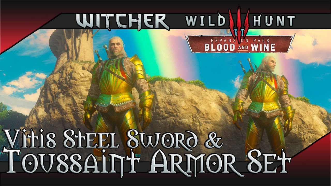 Vitis Relic Steel Sword | Witcher 3: Blood and Wine