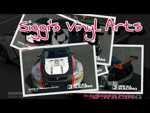 Siggi`s Vinly Arts How to do it? Nissan GTR Race Style