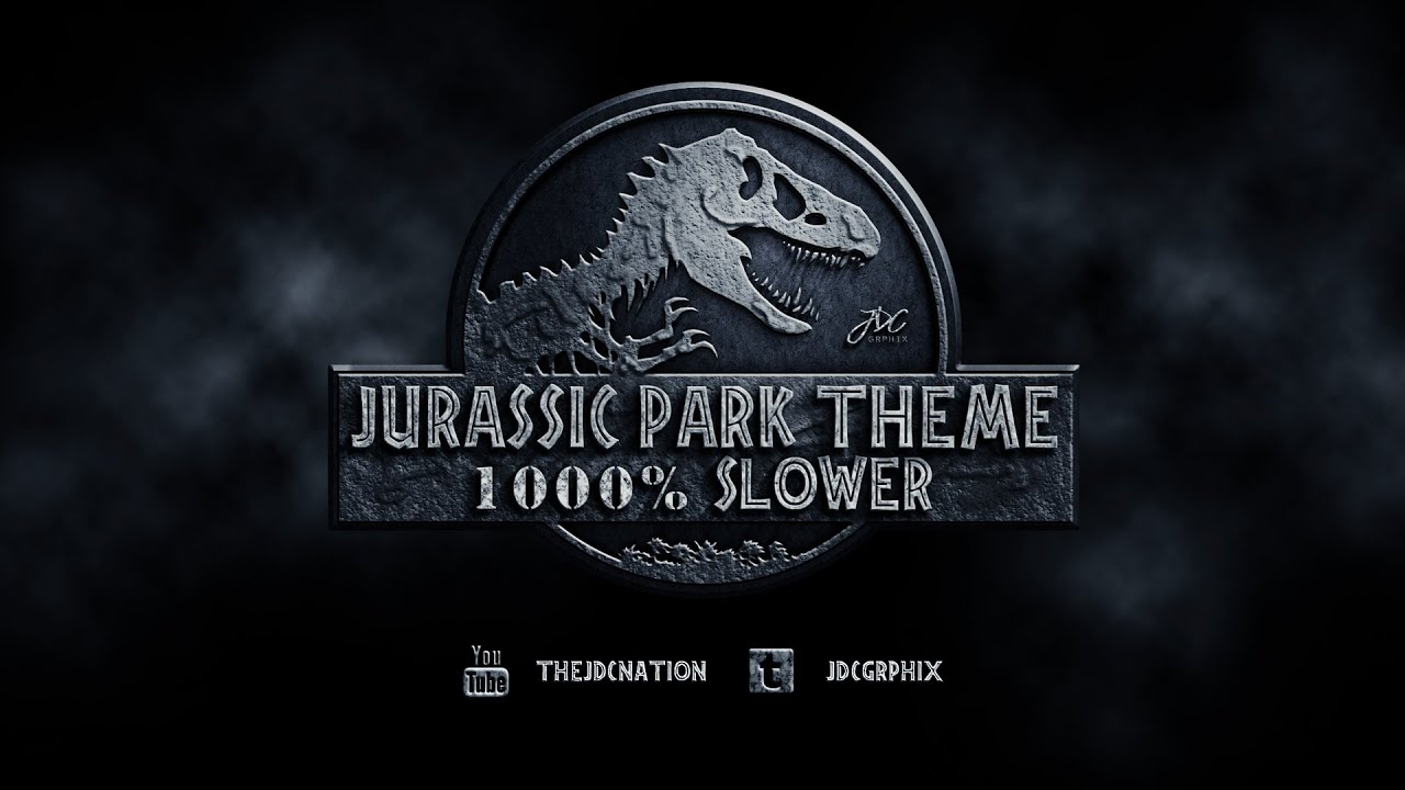 The first motif which is heard most frequently is known simply as Theme from Jurassic Park and is introduced when the visitors first see the Brachiosaurus