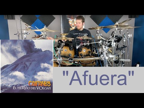 Afuera- Drum Cover- Caifanes