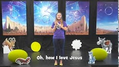 Oh How I love Jesus motions