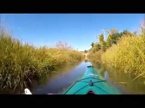 Paines Creek in Brewster MA. Kayak Adventure.