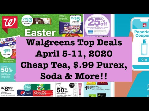Walgreens Couponing Top Deals| Cheap Soda, $.93 Bags, $.50 Tea & More| Krys The Maximizer