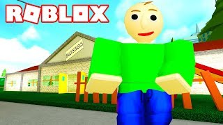 STEALING IN THE SCHOOL OF BALDI'S! Roblox Robbery Simulator
