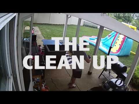 Oklahoma Joe's Highland Offset Smoker - Setup, Cook & Cleanup (Sped Up)