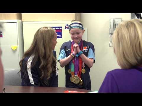 Christie Rampone Visits Southern Regional High School