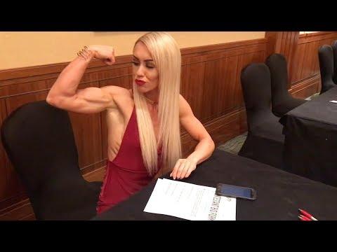 Bodybuilder Becomes 'Female Superwoman'