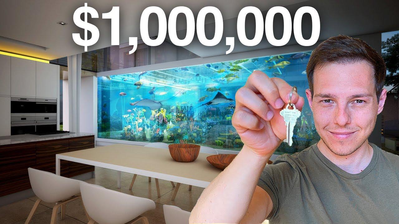 $1,000,000 HOME AQUARIUM TOUR! - Inside Graham's *FINISHED* Las Vegas House!