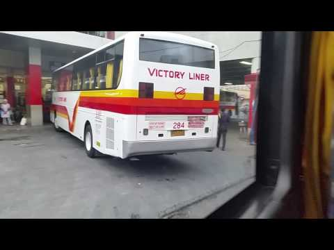 Leaving Olongapo terminal victory  liner
