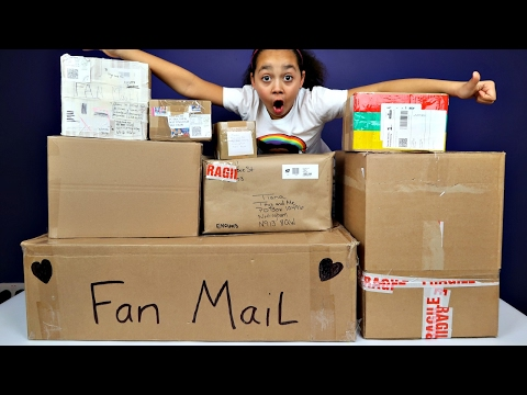 Giant Surprise Presents Fan Mail Toy Opening - Shopkins Num Noms Candy Disney Toys