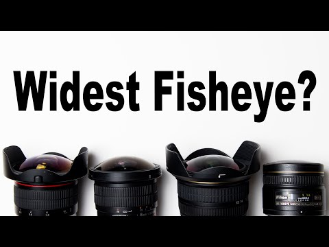 What's The Widest Fisheye Best For Skateboard Media?