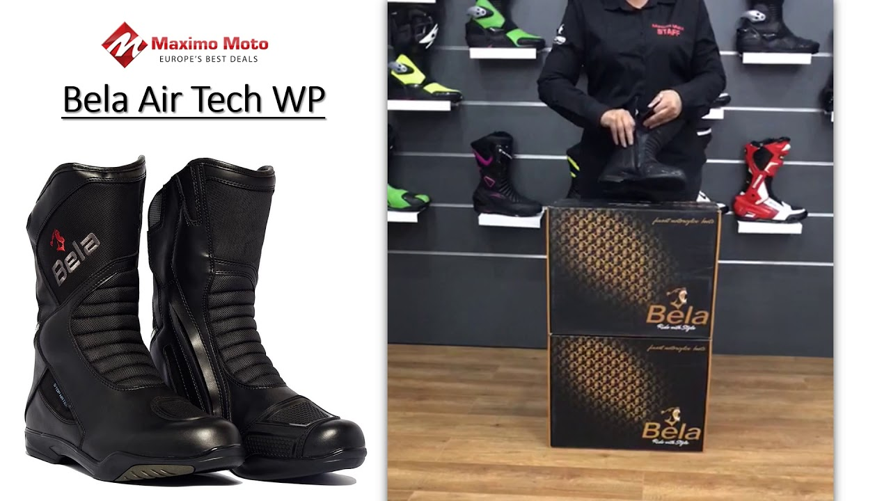 Bela Air Tech WP Botas De Moto | Maximo Moto