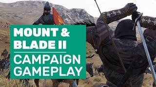 Mount & Blade 2: Bannerlord Campaign Gameplay | World Map, Towns And Chicken Murder