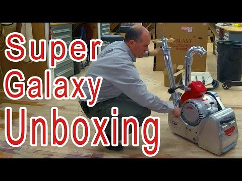 LIVE Galaxy Super 2000 Floor Sander Unboxing | Set Up Demo | City Floor Supply