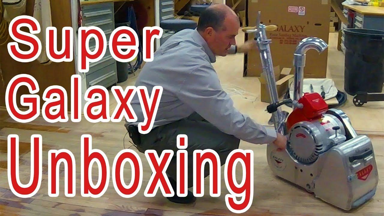 Galaxy Super 2000 Floor Sander Unboxing