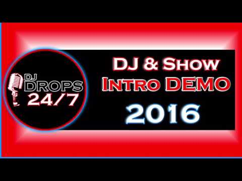2016 Custom DJ & Show Intro Demo | Custom DJ Intros | DJ Drops 24/7 | Voice Over | Brandon Futch