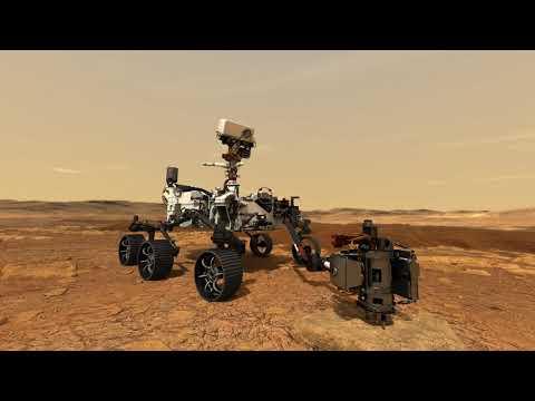 NASA Mars 2020 Media Reel