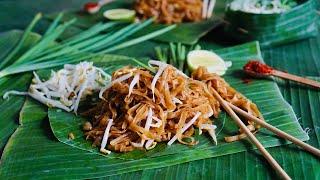 Korat-Style Pad Thai - Pad Mee Korat - Thai Fried Noodles - ผัดหมี่โคราช