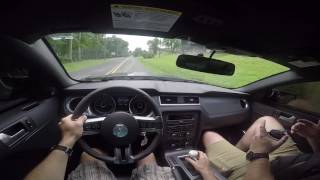 driving a shelby gt500 for the first time