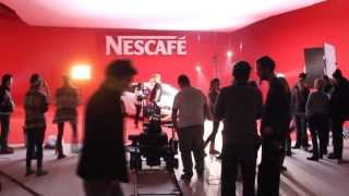 Nescafe Reklamı Kamera Arkası