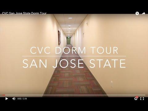 CVC San Jose State Dorm Tour