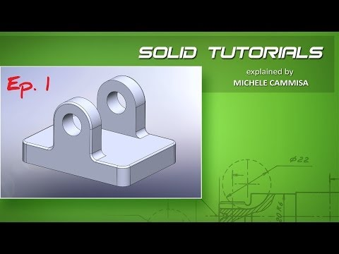 Starting with SOLIDWORKS - Intro Ep.1 / Introduzione Ep.1