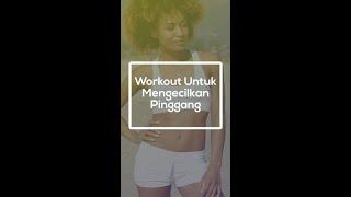 Olahraga Mengecilkan Perut Dan Pinggang! Workout Pemula #Shorts
