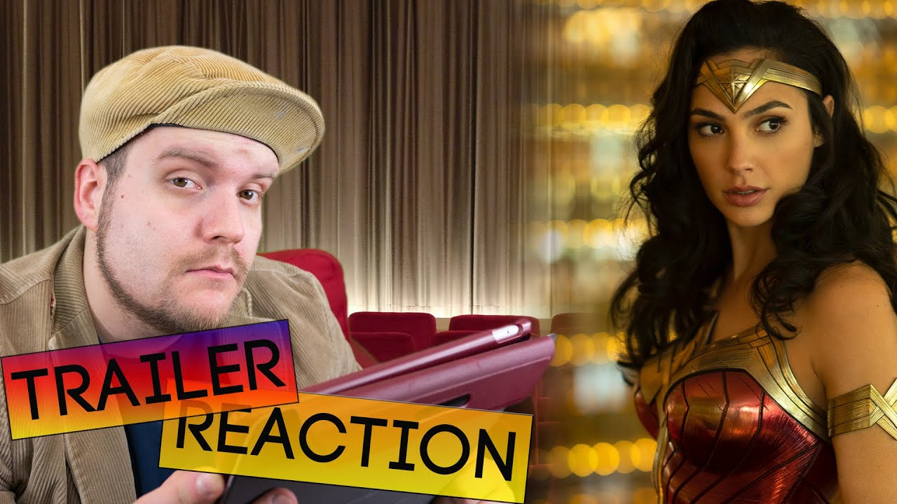 WONDER WOMAN 1984 Trailer Reaction + Analyse Deutsch German [2020 ...