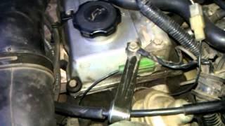 Mazda 323 BAT tezligi suzishga