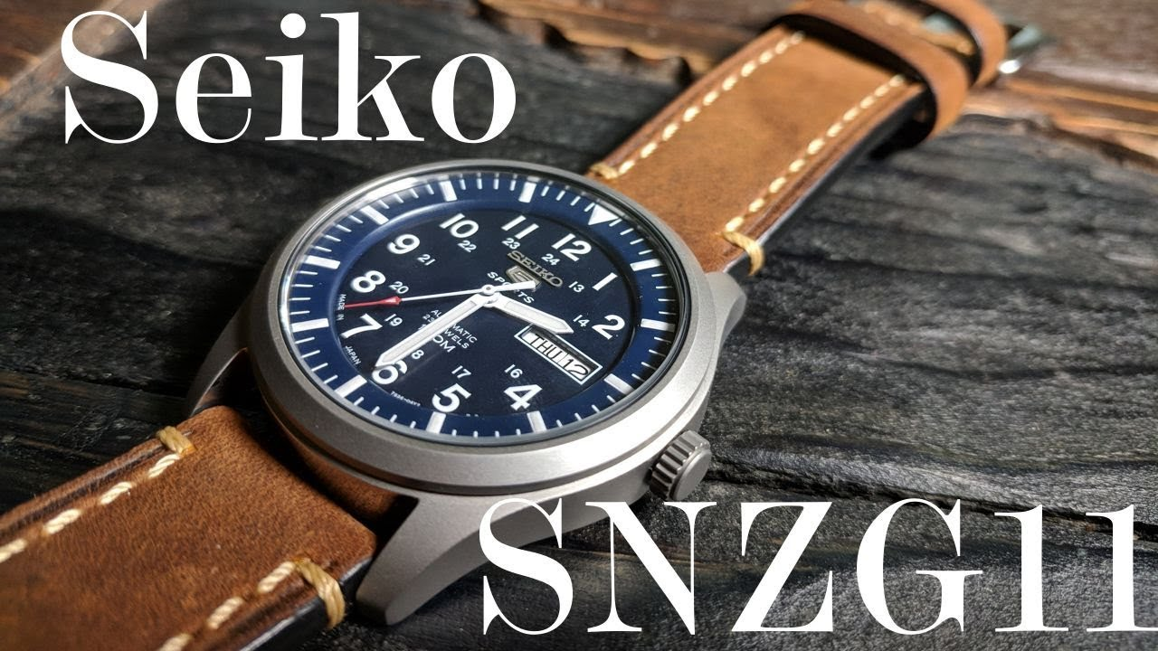 The Better Field Watch: Seiko SNZG11J1 Review (SNZG Series, SNZG)