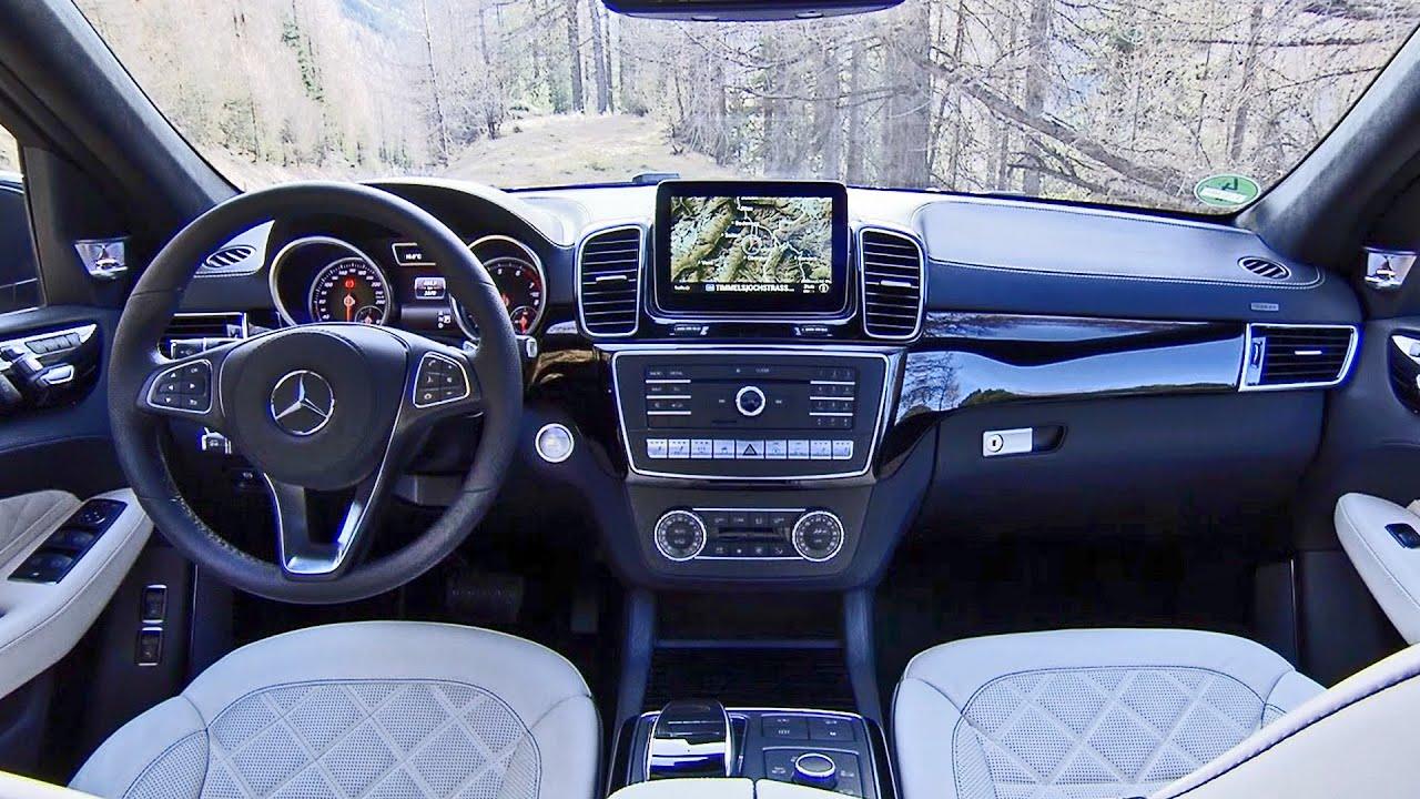 Mercedes Gls 2016 Interiors