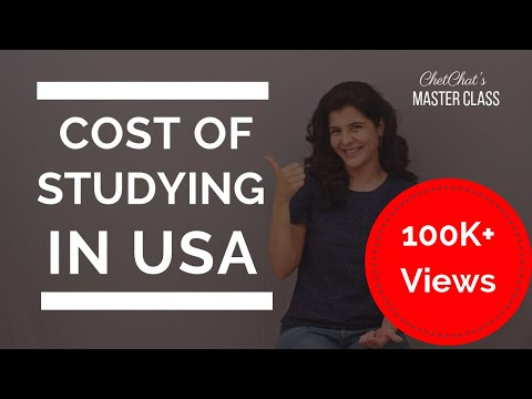 Cost of Studying in USA | How Much Does it Cost to Study Abroad in the USA | ChetChat