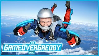 Sky Diving - The GameOverGreggy Show Ep. 213 (Pt. 4)