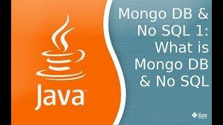 Mongo & NoSql 1: Что такое NoSql & Mongo DB