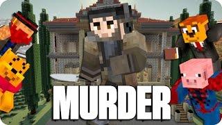 ¡TODO ES PARTE DEL PLAN! MURDER | Minecraft Con Sara, Luh, Exo Y Macundra
