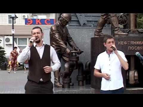 Новости нашего города. Открытие памятника нефтяникам