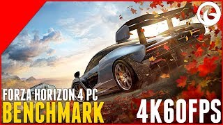 Forza Horizon 4 Demo - PC Benchmark - 4K60 Settings