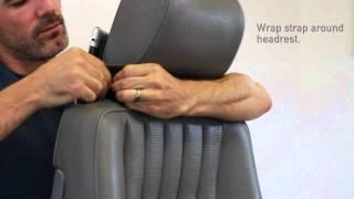 modulR Headrest Strap Installation
