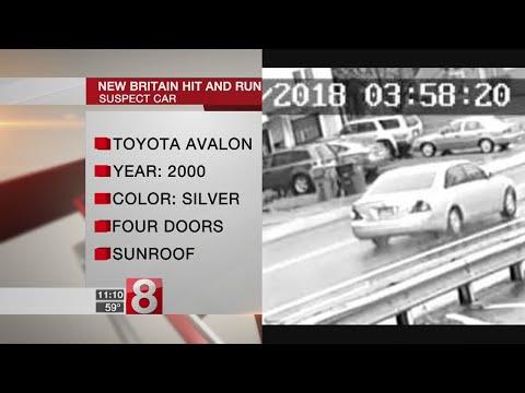 New Britain police identify hit and run victim, seek suspect