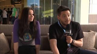 RUBIUS, WILLYREX, LOLITO Y MANGEL BAILANDO DESPUES DEL FORTNITE PRO-AM EN EL E3 2018