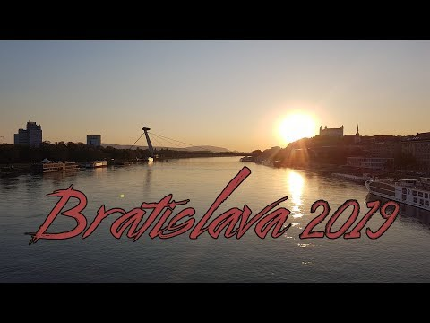 Bratislava Trip 2019 - GoPro Hero 7 Black Travel Video - 4K