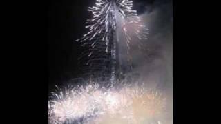 Burj Dubai (Burj Khalifa) opening fireworks
