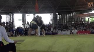 Чемпионат мира по Сумо 2015 г.Осака,Япония. ( RUS vs MNG) НА ХАРАКТЕРЕ
