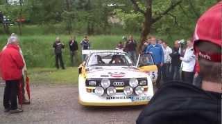 AUDI Quattro S1 Group B Walter Röhrl