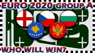 Euro 2020 Qualifiers Marble Race - Euro Group A