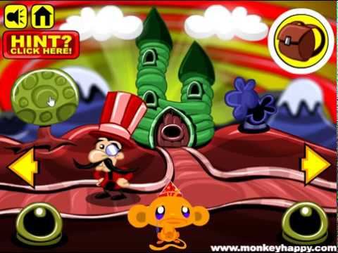 Мультик игра Счастливая обезьянка: Шоколад (Monkey GO Happy Chocolate)