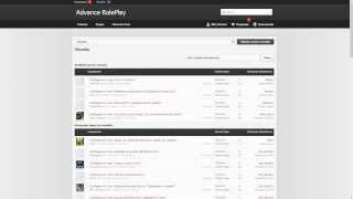 Advance RolePlay - Форум админов