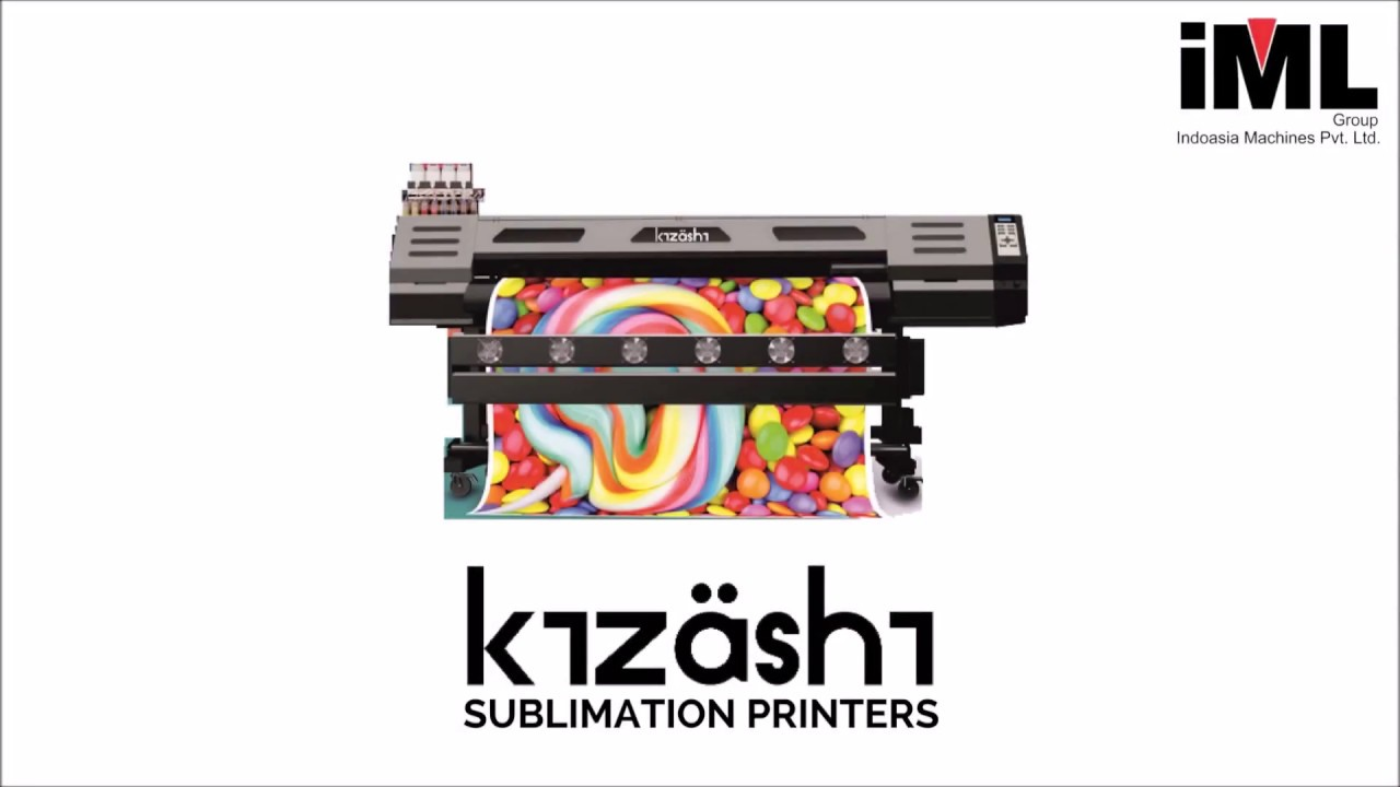 Industrial Digital Sublimation Printing - Kizashi Sublimation Printers