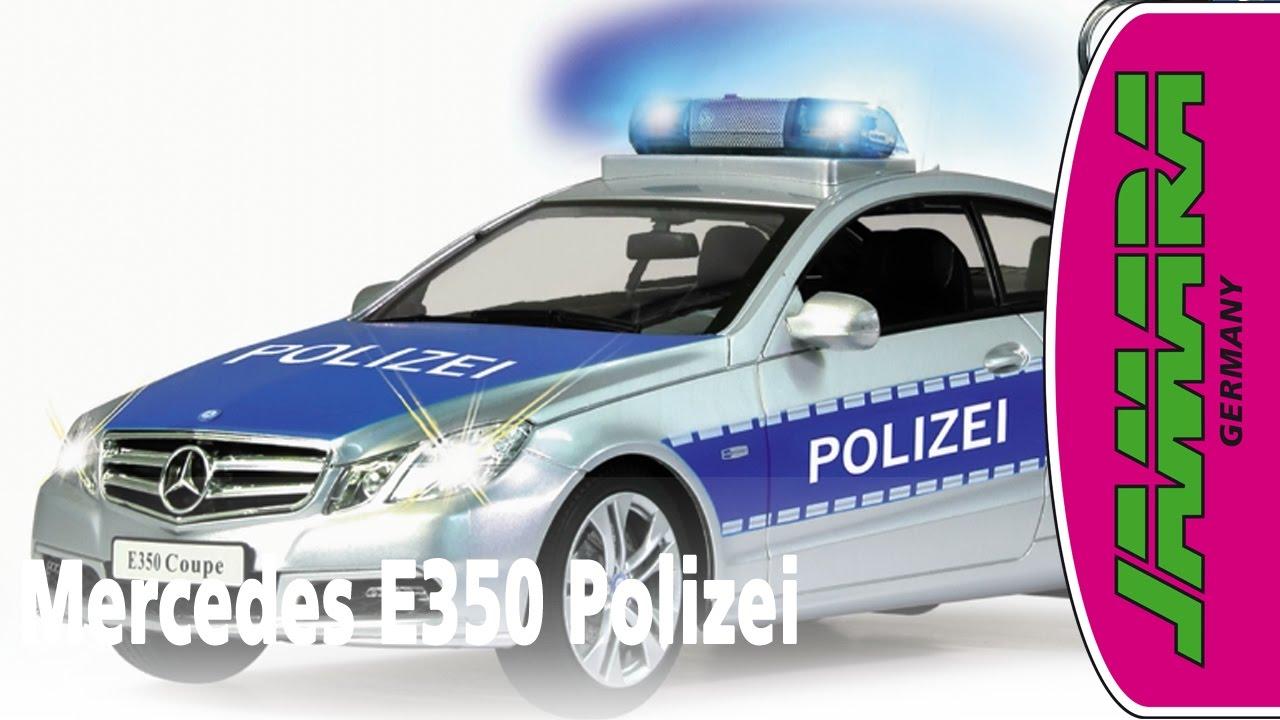Mercedes-Benz E 350 Coupe Police 1:16 2,4GHz, Jamara-Shop