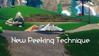 NEW PEEKING METHOD in FORTNITE - v6.30 patch (OVER POWERED)